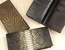 蛇革の財布